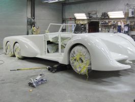 Building Nemo's Car - LXG - Sculpture Car by dentman65
