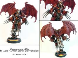 Raptor Lord Painted Conversion by chaotea