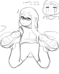 Splatoon  Fanart wip by lazy-Time