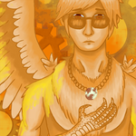Homestuck Track Art Contest: Davesprite by teh-silver-wolfeh