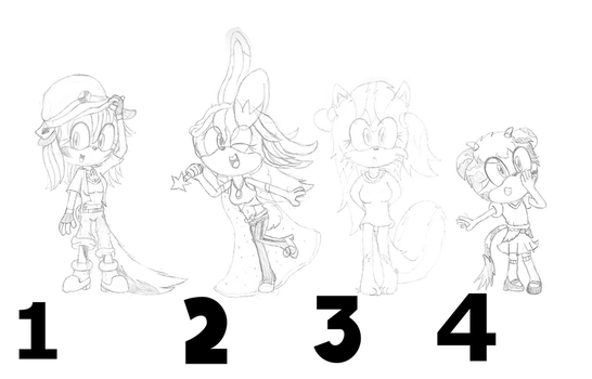 Adoptable Batch 4 (1 AND 4 OPEN) by FloofPuppy-64