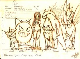 My SoulSilver Team by AmmyWolf95