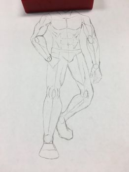 How my drawing of logan started by Diyuzhihuo