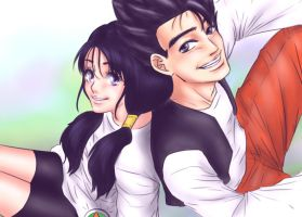 Contest: Favorite Cosplay - Gohan and Videl by MissKisa