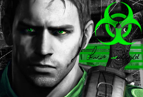 Chris Redfield by Spaulding--x