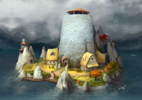 Watchtower by jjnaas