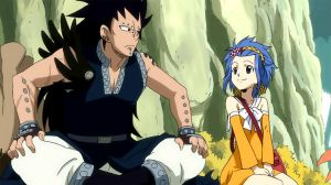 Me and Gajeel on Tenrou Island by AskLevyMcGarden
