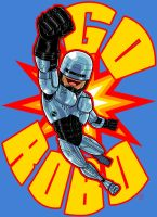 RoboCop Shirt Design by Kenpudiosaki