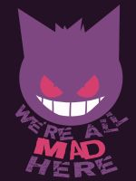 Gengar Cheshire Cat Shirt by Fishmas