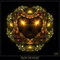 From The Heart by Brigitte-Fredensborg