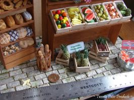 Farmer's Market (1:12 Scale) - Pictured with Ruler by birdielover