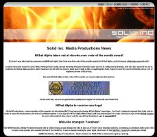 Solid Inc. Media Web-Site by Grayda