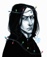 Severus Snape by LiaBatman