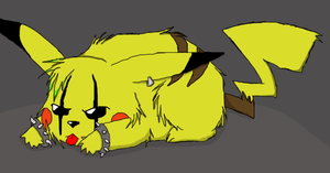 Dem0nPirateKitty's Punkachu by JuggalettaGurl