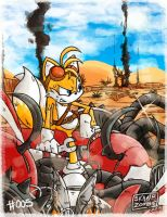 ~ Tails also went Boom ~ by SkaJrZombie