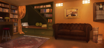 The Blind Griffin: Research Room by Auro-Cyanide