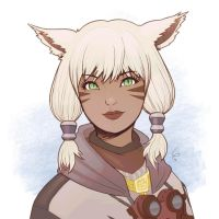 Y'shtola by Louistrations