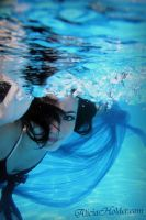 Model Underwater by aliciaholder
