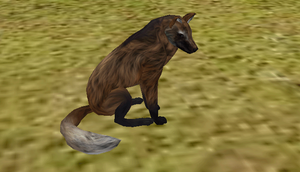 Maned Wolf Preset (Animated)(Open) by catgreat