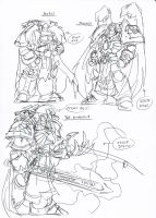 Some primarch sketches by NachoMon