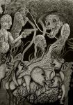 Exquisite Corpse II by Unearthling