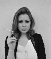 Cigarette Smoker by PrettyInPunk24