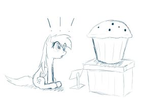 Giant Muffin WIP by JinYaranda