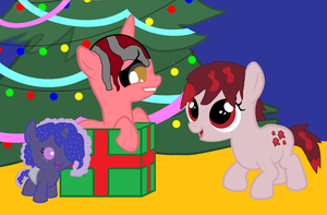 Merry Christmas from the Kids by Nikki-Eats-Faces