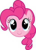 Pinkie Pie Face by PaulySentry
