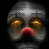 scary clown 0_0 by JimmyCarterIsSmarter