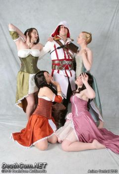 Ezio and the Ladies by CountessLenore
