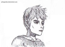 Tradition Drawing: Jack Frost by johngreeko