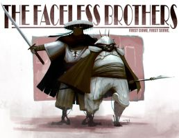 The Faceless Brothers by DioMahesa
