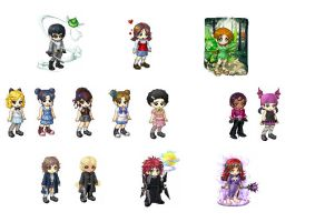 Gaia Character Avatars 10 by tigerjr228