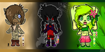 Chibi Adopts 1 [READ DESCRIPTION] (3/3 OPEN) by Libra-Dragoness