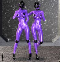 ENRU-Purple Latex Version by XSkullheadX