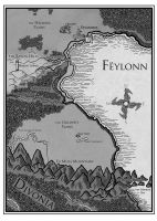 Map of Feylonn by YasminFoster