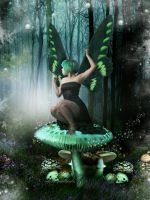 Midnight Forest Dream. by myheartindollparts