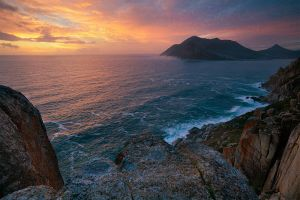 Atlantic Sunset by hougaard