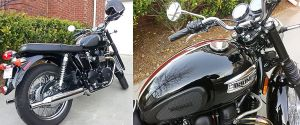 Triumph Bonneville T100 by dx