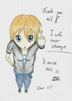 I will never change by KeeyBe