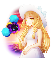 pokemon -- Lillie and Nebby