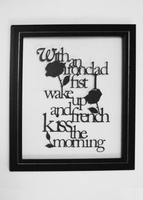 Bon Jovi Bed of Roses papercut by ladysilver2267