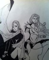 Teen Titans Girls by TheReaper111