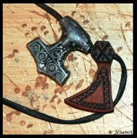 Axe Pendant by Hluthvik