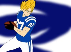 NFL Player Goku: Indianapolis Colts by ssvineman