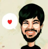 Mike Shinoda_ by Toolkit04