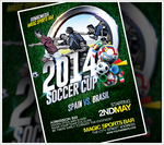 2014 Soccer Cup Flyer by RomacMedia