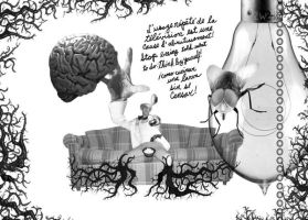 Brain Couch by misfitmalice