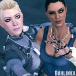 Cassie and Jacqui by Bahlinka